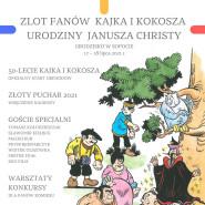Zlot Fanów Kajka i Kokosza - Urodziny Janusza Christy