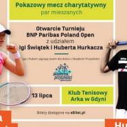 Otwarcie turnieju: Iga Świątek i Hubert Hurkacz