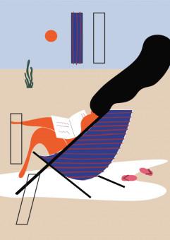 Przystań Książki - letnia czytelnia na plaży