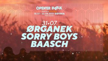 Bilety na Open'er Park - Organek/ Sorry Boys/ Baasch