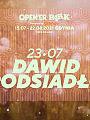 Open'er Park - Dawid Podsiadło