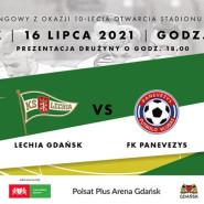 Jubileuszowy mecz sparingowy oraz prezentacja drużyny Lechii Gdańsk