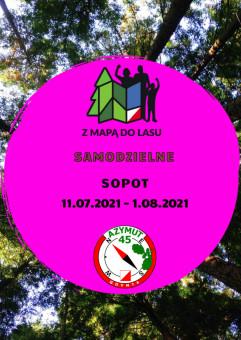 Samodzielne Z Mapą do Lasu Sopot