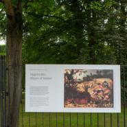 Różne spojrzenia w Parku Oliwskim