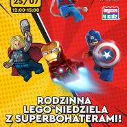 Rodzinna LEGO niedziela z superbohaterami! | Warsztaty Olivia Star z Bricks4Kidz