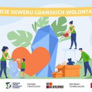 Otwarcie Skweru Gdańskich Wolontariuszy