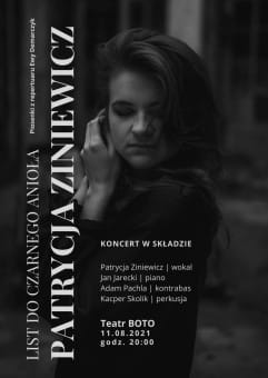 BOTO FEST: Patrycja Ziniewicz - List do Czarnego Anioła (piosenki z repertuaru Ewy Demarczyk)