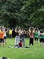 Qigong Falun Dafa w Parku Oliwskim