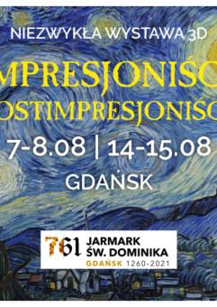 Wystawa Malarstwa Impresjonistów i Postimpresjonistów w 3D