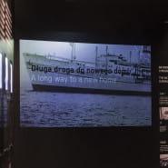Gdynia - działo otwarte - oprowadzanie po wystawie