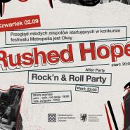 Garaż i Podwórko - koncert zespołu Rushed Hope - rock'n roll after party