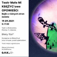 KSIĘŻYCowe OPOWIEŚCI  Wędrowny Teatr Lalek Małe Mi