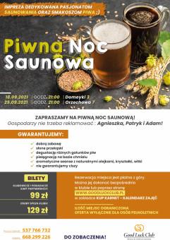 Piwna Noc Saunowa