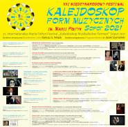 """XXI Międzynarodowy Festiwal  """"Kalejdoskop Form Muzycznych im. Marii Fołtyn"""" - Sopot 2021"""