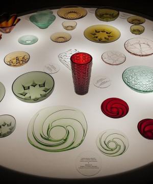 Jak w kalejdoskopie, czyli kolorowy świat szkła Jana i Eryki Drostów - oprowadzanie po wystawie