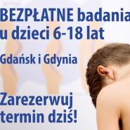 Bezpłatne badania w kierunku wad postawy u dzieci w wieku 6-18 lat w Gdańsku