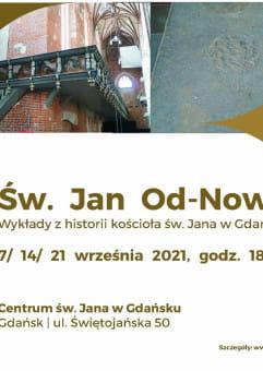 Cykl wykładów z historii kościoła św. Jana w Gdańsku