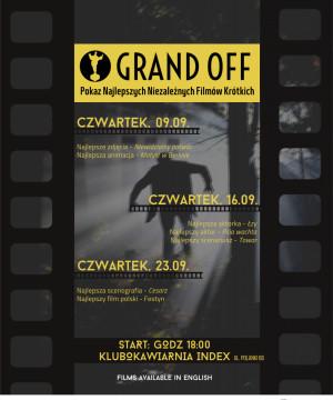 3. Pokaz Niezależnych Filmów GRAND OFF