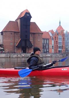 Gdańsk z kajaka z przewodnikiem: przybij piątkę Sołdkowi