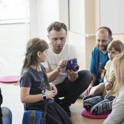 Rozmyte miasto - warsztaty dla dzieci