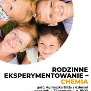 Webinar. Rodzinne experymentowanie - chemia