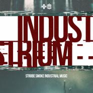 Industrium - strobe and smoke industrial music