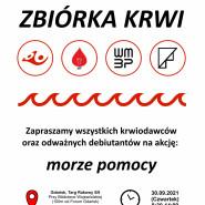 "Zbiórka Krwi ""Morze Pomocy"""