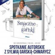 Spotkanie autorskie z Sylwią Garską-Chmarycz