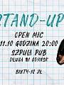 Stand-up | Open mic w Szpula PUB
