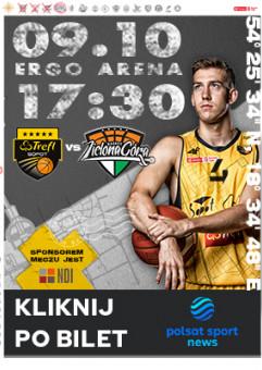 Koszykówka: TREFL Sopot - Enea Zastal BC Zielona Góra