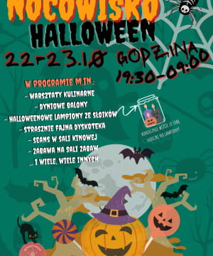 Nocowisko Halloween - pierwszy termin