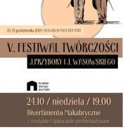Divertimento Makabryczne - czytanie i śpiewanie performatyne
