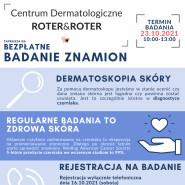Bezpłatne badanie dermatoskopowe