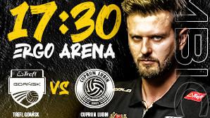 Bilety na siatkówkę mężczyzn: TREFL Gdańsk - Cuprum Lubin