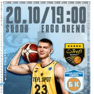 Koszykówka: TREFL Sopot - Rilski Sportist