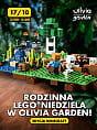 Rodzinna LEGO Niedziela w Olivia Garden edycja Minecraft