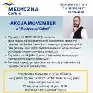 Akcja Movember w Medycznej Gdyni