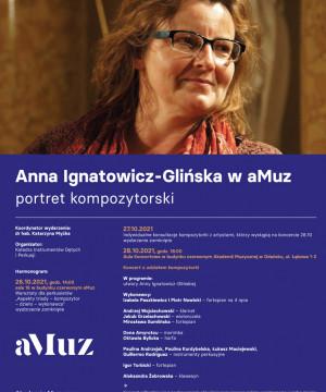 Koncert Anna Ignatowicz-Glińska w aMuz  portret kompozytorski