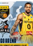Koszykówka: TREFL Sopot - Hapoel Eilat