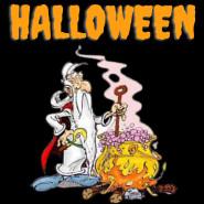 Halloweenowy kociołek