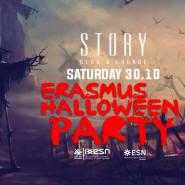 Erasmus halloween party
