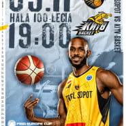 Koszykówka: TREFL Sopot - Kijów Basket