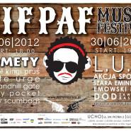 Pif Paf Music Festival: Komety