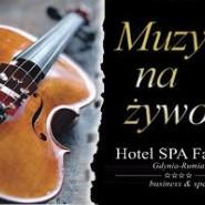 Muzyka na żywo w każdą sobotę w Hotelu SPA Faltom