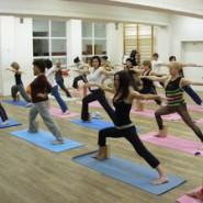 Poranne zajęcia jogi!