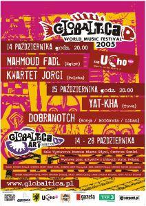 Globaltica World Music Festival 14-15 Października 2005