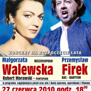 Koncert na rozpoczęcie lata - Małgorzata Walewska, Przemysław Firek