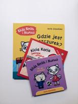 Zestaw książek Kicia Kocia