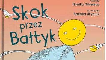 """2 książki """"Skok przez Bałtyk"""""""