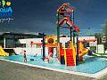Szalona zabawa w parku wodnym